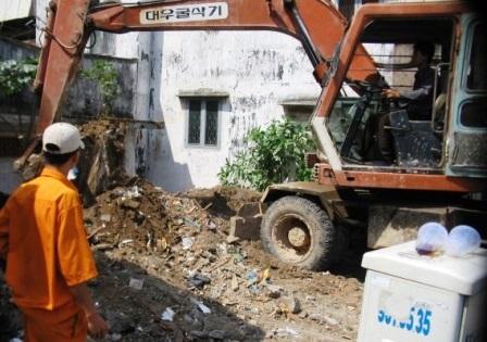 vận chuyển xử lý rác xây dựng tại Hưng Yên