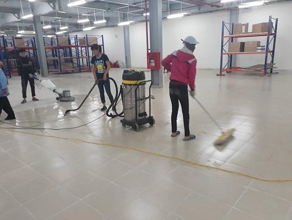 Dịch vụ vệ sinh công nghiệp tại Hưng Yên