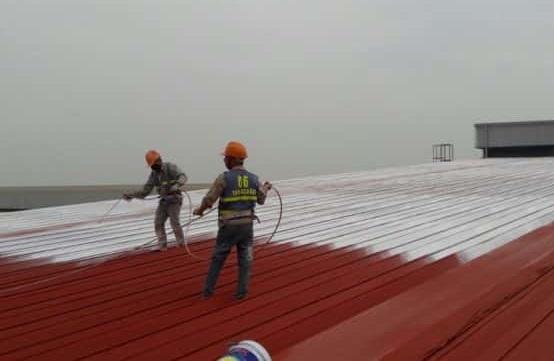 Sơn mái tôn nhà xưởng tại Hưng Yên